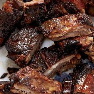 Honey Glazed Pork Spareribs.