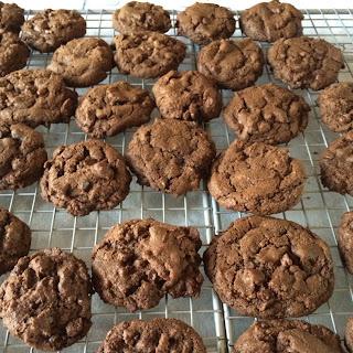 Chocolate Chocolate Cookies.