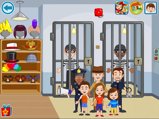 My Town : Police Station  screenshots 12