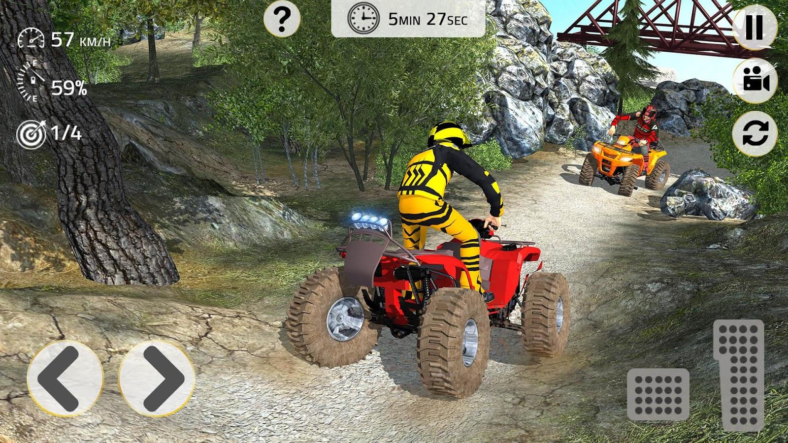 Atv Quad Bike Simulator 3d Offroad Adventure Android Apps On