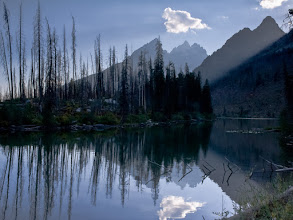 Photo: String Lake afternoon reflection, September 2006