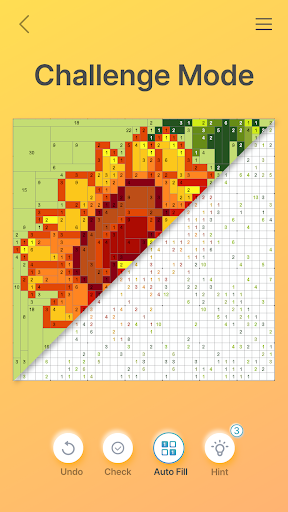 Happy Pixel - Free Nonogram Coloring Puzzle Game modavailable screenshots 1