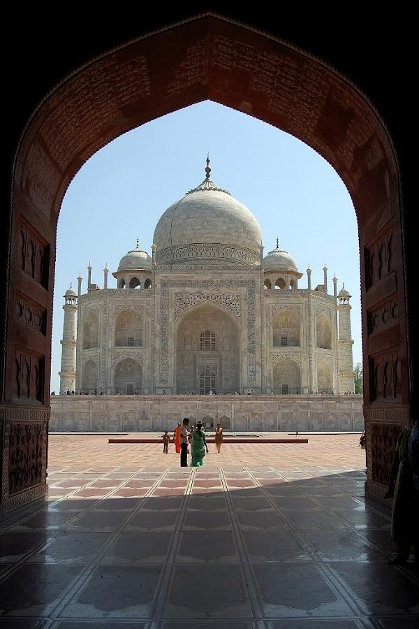Taj Framed by Dipankar Debnath - Buildings & Architecture Other Exteriors