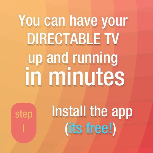 Directable TV Digital Signage