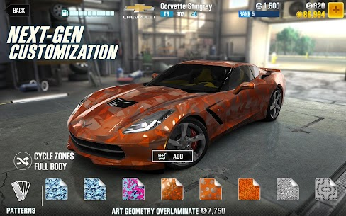 CSR Racing 2 MOD Apk (unlimited Coins) 9