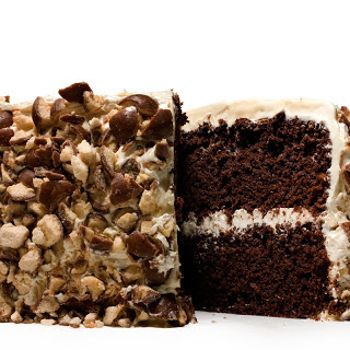 Triple Malt Chocolate Cake