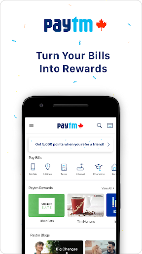 Paytm - Pay Bills in Canada 2.7.0 app download 1
