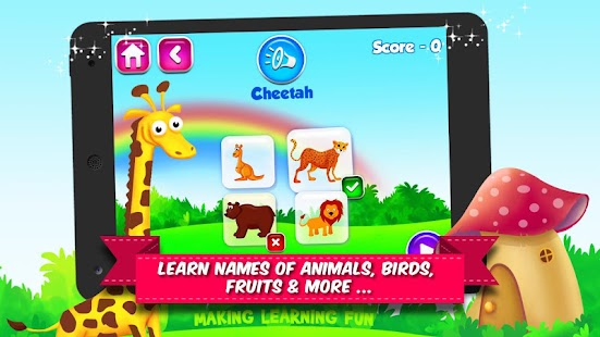 Kidz Hub: All-in-One Learning Game for Kids Screenshot