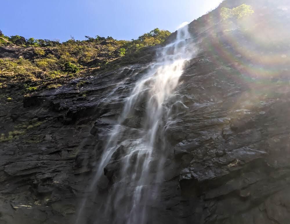 belligundi waterfalls sharavathi valley shimoga karnataka