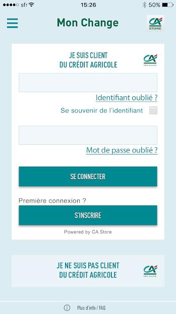Mon Change Android App Screenshot