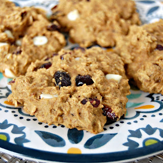 Cranberry White Chocolate Breakfast Cookie.