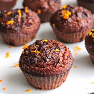 Paleo Chocolate Orange Muffins.