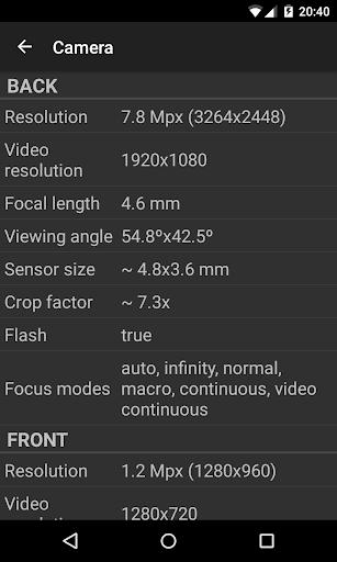Phone Tester (hardware info) screenshot 7