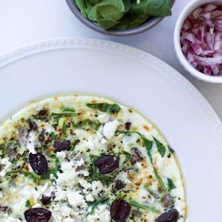 Greek Egg White Frittata