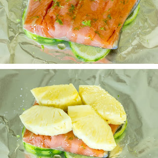 Pineapple Salmon Foil Packs