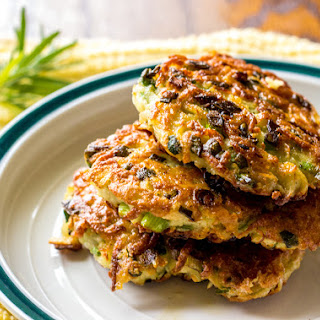 Rosemary Garlic Latkes With Crunchy Scallions