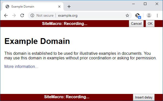 SiteMacro