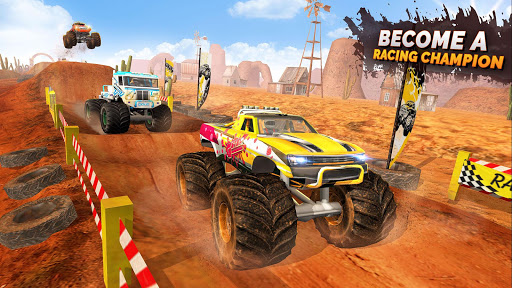 Monster Truck OffRoad Racing Stunts Game 1.7 screenshots 4