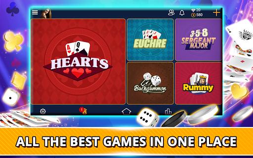 VIP Games: Hearts, Rummy, Yatzy, Dominoes, Crazy 8 apkmr screenshots 17
