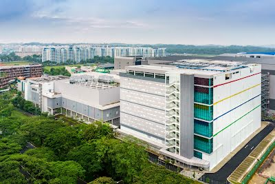 Het datacenter in Singapore