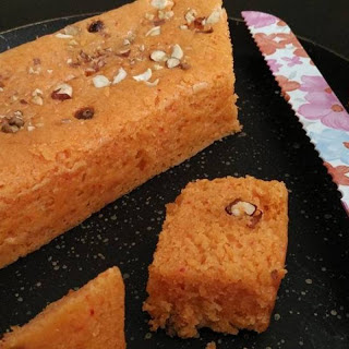 Dry Fruits Spongy Cake