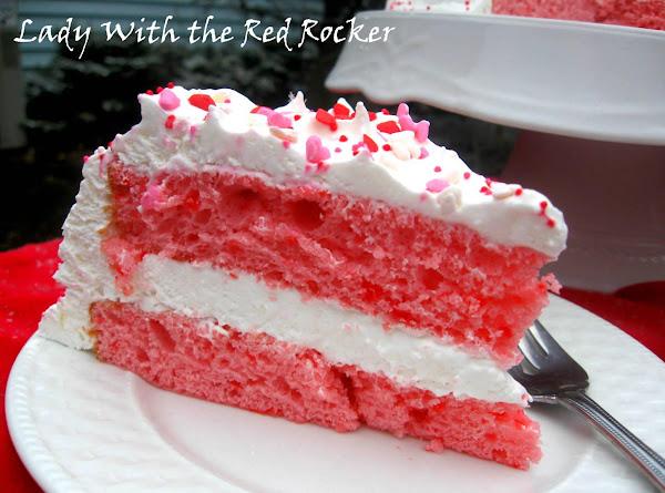 Strawberry Cake ( 2 Ingredients ) Recipe