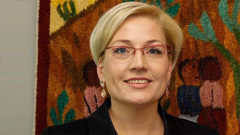 Jacqui O'Sullivan, executive for corporate affairs at MTN.