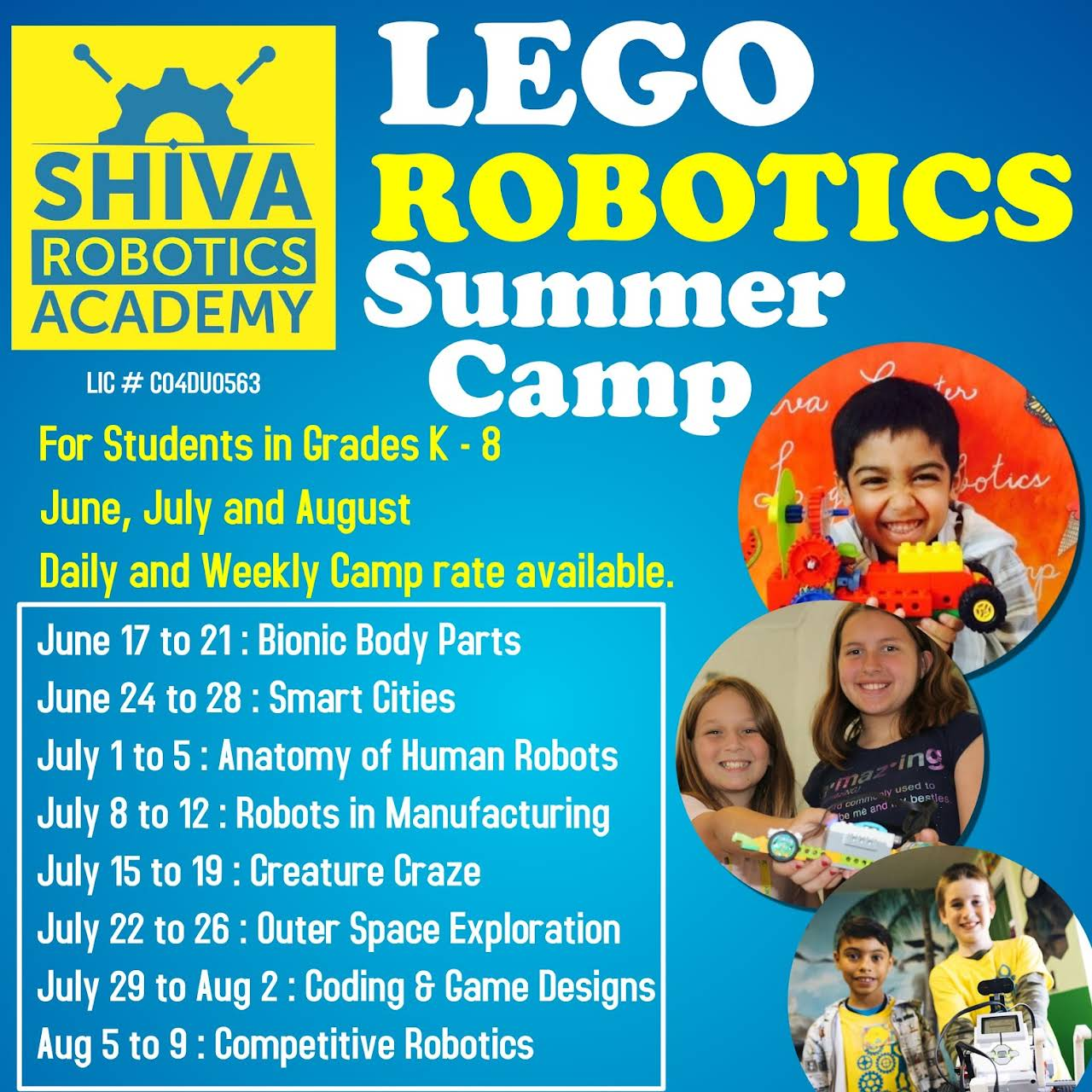 Shiva Robotics Academy - Educational Institution in Jacksonville