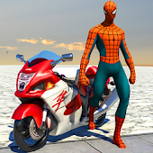 Spider Hero Delivery Pizza