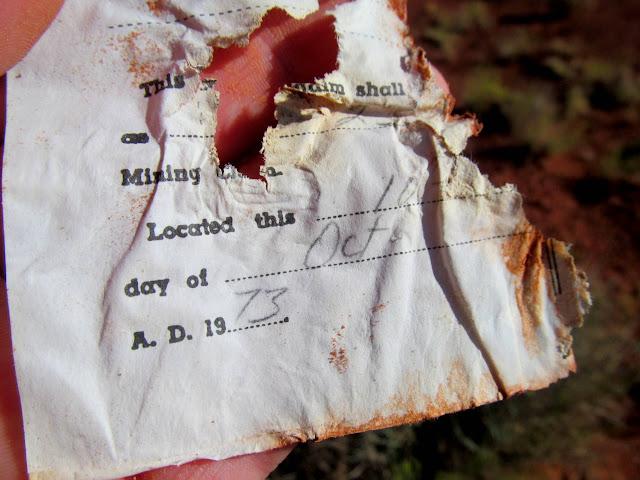 1973 mining claim