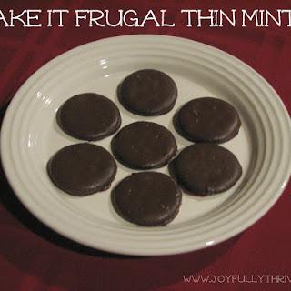 Fake It Frugal Thin Mints