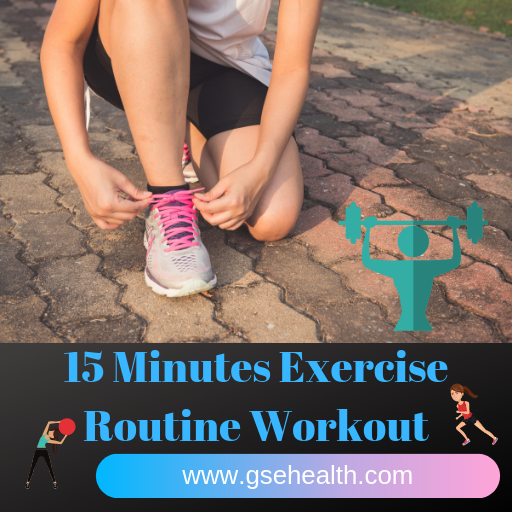 15 Minutes Exercise Routine Workout