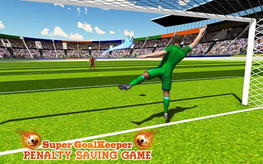 Super gardien de but: jeu de pénalité  captures d'écran 1