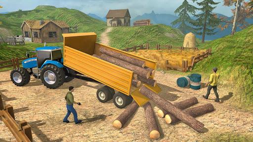 Farmland Simulator 3D: Tractor Farming Games 2020 apkpoly screenshots 5