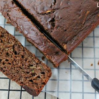 Skinny Chocolate Zucchini Bread.