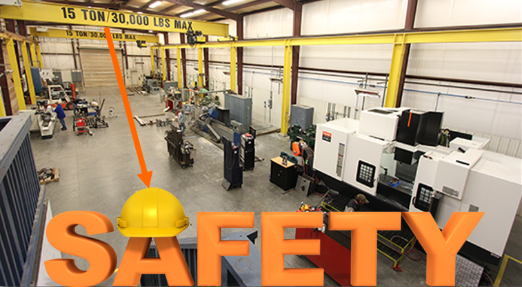 General Safety Precautions while Working in Machine Shop