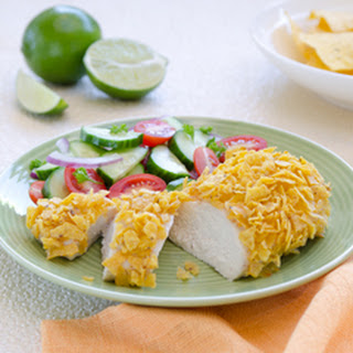Chipotle-lime-crusted Chicken.