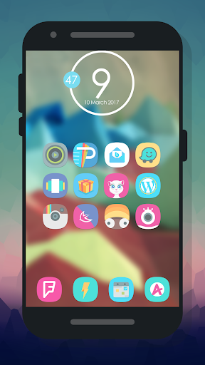Ronio - Icon Pack Programos Android screenshot