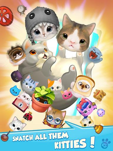 Kitty Snatch - Match 3 ft. cats Monty & Nala Cat  screenshots 6
