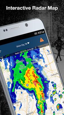 Weather by WeatherBug - screenshot