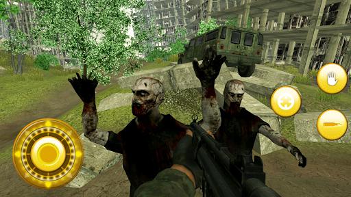 Zombie Hunter on SUV