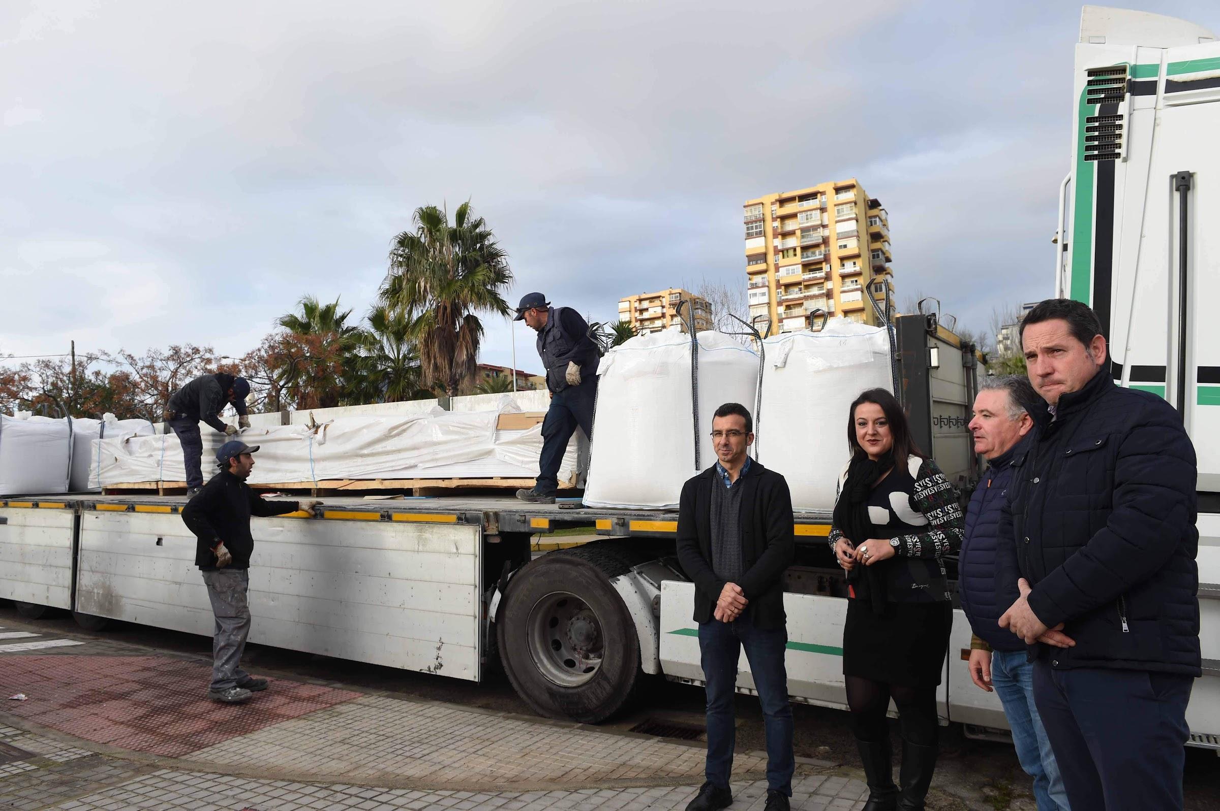 Se inician las obras del lucernario del CEIP Mediterráneo