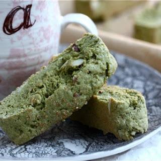 Green Tea Biscotti