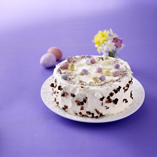 Chocolate Easter Cake with Buttercream Icing