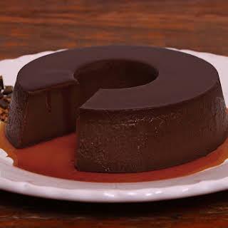Chocolate Leche Flan.