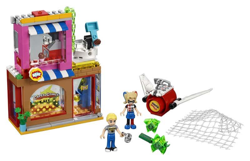 Contenido de Lego® 41231 Harley Quinn™ al Rescate