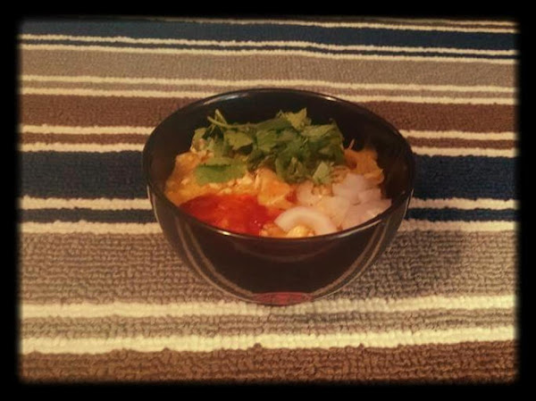 Easy Curry Chicken Noodle Bowl Recipe