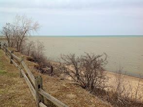 Photo: Looking north at Lake Huron