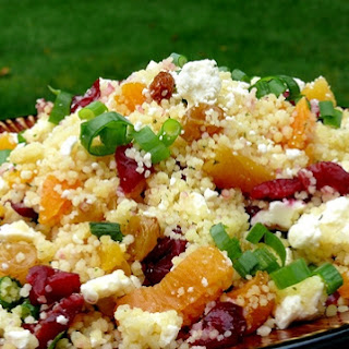 Couscous with Dried Fruit and Feta