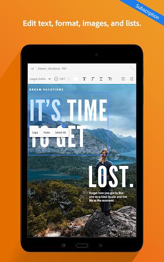 Adobe Acrobat Reader 18.5.1.8310 screenshots 22